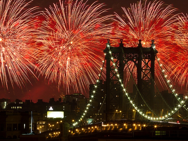 The Macy's 4th of July Fireworks show promises to be the largest in the nation.