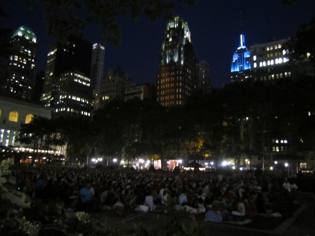 Moviegoers in the heart of Midtown