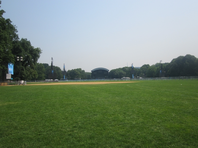 The Great Lawn will be jam packed for Thursday's Black Eyed Peas show.