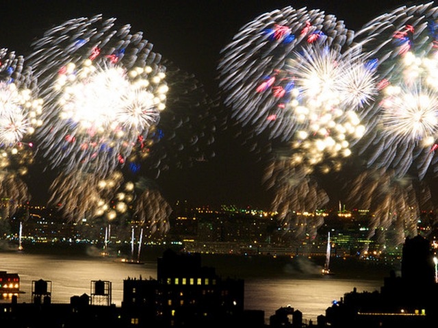 A grand finale promises to cover the Hudson River this year.