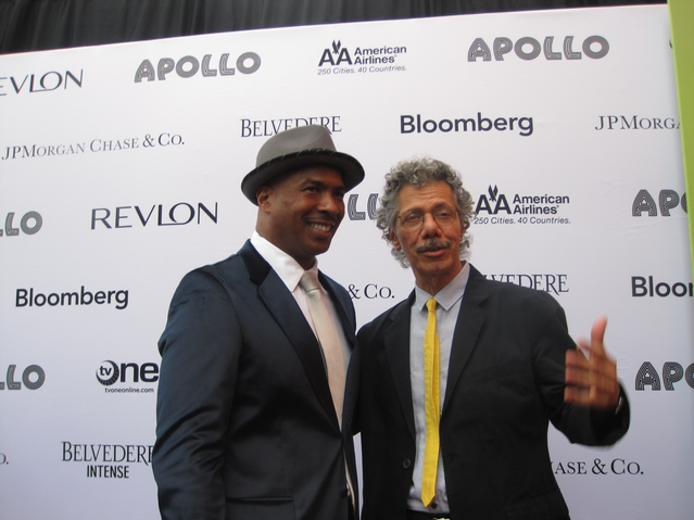 Ray Chew, (left) musical director of American Idol and jazz pianist Chick Corea.