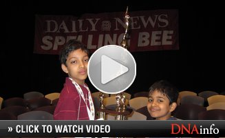 Ten-Year-Old Bests Manhattan Wordsmiths to Take Spelling Bee Crown