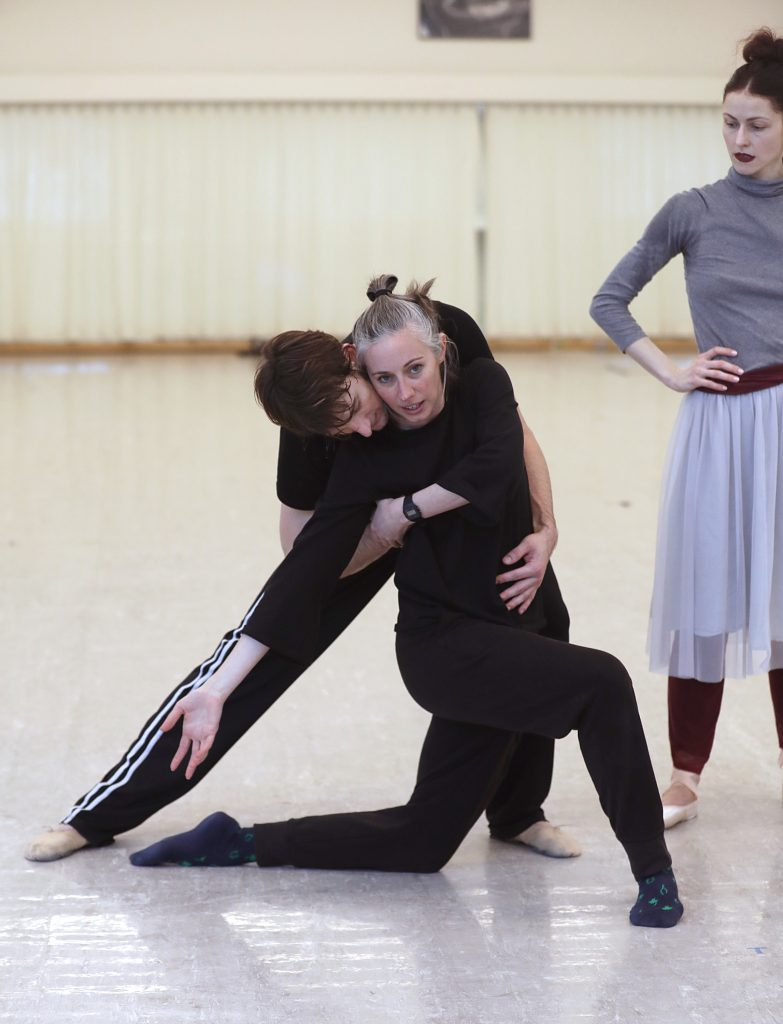 building a dance step by step for a world premiere at sf ballet