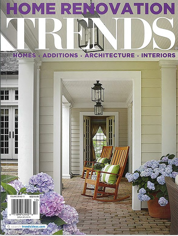 Home And Architectural Trends Magazine home renovation trends - january 2014