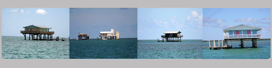 Florida Stiltsville houses