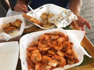 The Freezer cheap eats shrimp