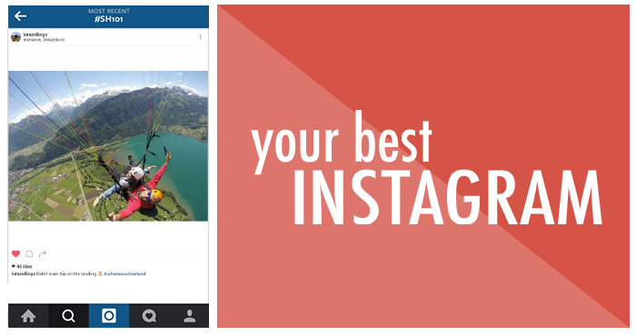 Your best Instagram