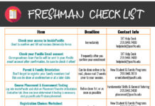 """Freshman Check List Successfully complete the IRS Data Retrieval Tool (DTR) on the FAFSA or submit copies of IRS Tax Return (if DTR is unsuccessful) for parent(s) and student June 1st O ce of Financial Aid 209.946.2421 nancialaid@paci c.edu Submit copies of W-2s for parent(s) and student June 1st O ce of Financial Aid 209.946.2421 nancialaid@paci c.edu Accept/Decline Student Loans (On InsidePaci c) As soon as possible O ce of Financial Aid 209.946.2421 nancialaid@paci c.edu Direct Sta ord Loan Subsidized and Unsubsidized Students complete Master Promissory Note (MPN) & Entrance Counseling As soon as possible O ce of Financial Aid 209.946.2421 nancialaid@paci c.edu Final O cial Transcripts AP/IB o cial tests (if applicable); if any college credit was received during hight school, o cial transcripts are required. July 1st O ce of Admission 209.946.2211 admission@paci c.edu Tuition & Housing Payment Log into InsidePaci c & select """"Manage Your Account"""" to make sure your payment in full or enroll in a payment plan. August 1st Student Accounts 209.946.2517 studentaccounts@paci c.edu Mandatory Title IX Training August 15th Student Conduct & Community Standards 209.946.2177 studentconduct@paci c.edu Health Services Forms & Immunization Compliance August 15th Paci c Health Services 209.946.2315 Wellness Survey (See next page) September 1st Paci c Health Services 209.946.3006 lthompso@paci c.edu Health Insurance Waiver If you have your own health insurance, decline the student insurance plan. September 9th Paci c Health Services 209.946.2315 insuranceo ce@paci c.edu Item Deadline Contact Info Check your access to InsidePaci c Used to con rm and ll out various University forms Immediately OIT Help Desk 209.946.7400 helpdesk@paci c.edu Check your Paci c Email account Correspondence from Paci c will be sent to your Paci c email account after con rmation, be sure to check it often! Frequently after you con rm your enrollment OIT Help Desk 209.946.7400 helpdesk@paci c.edu Parent &"""