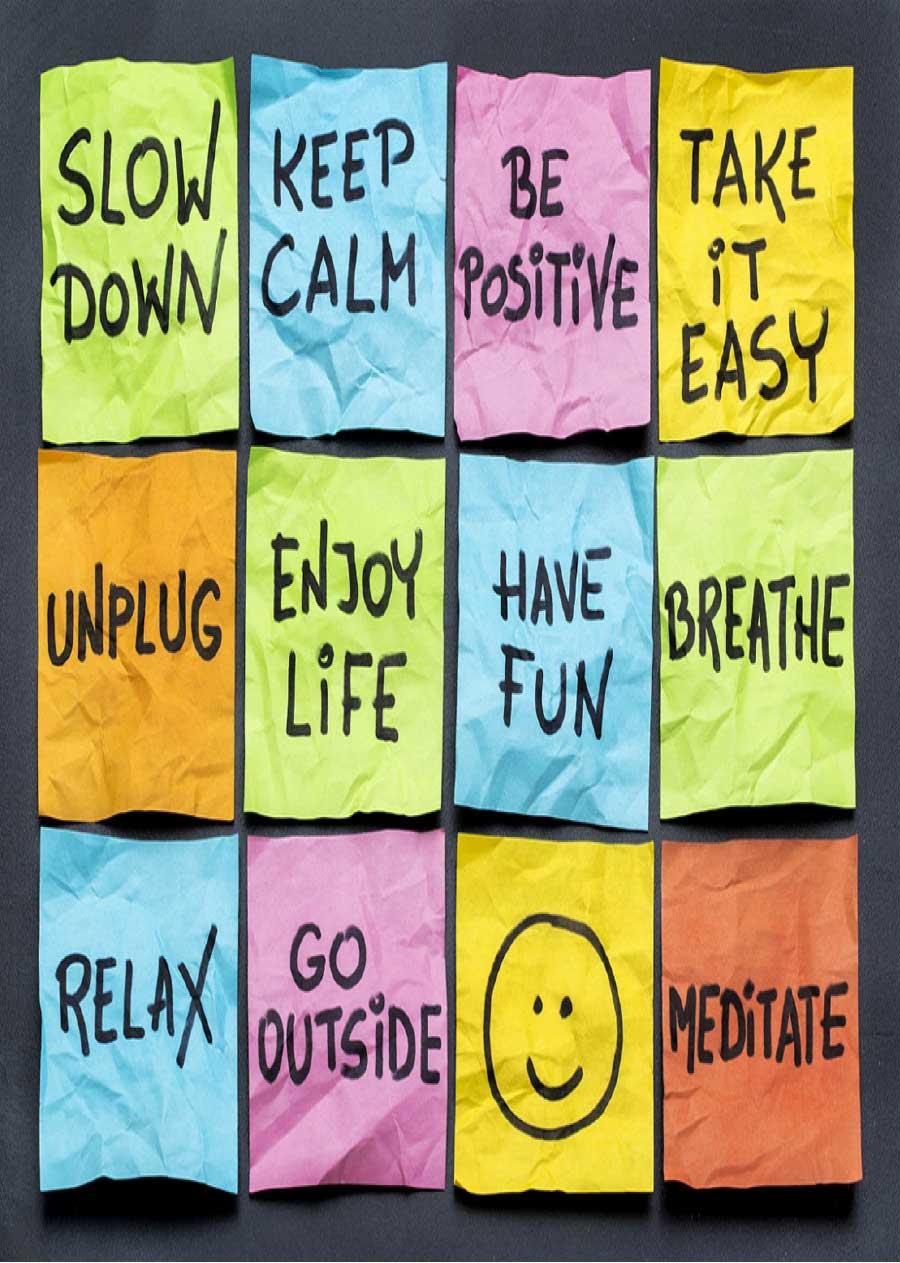 Ways to de stress