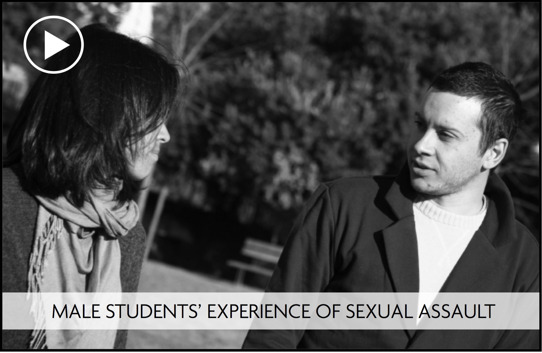Slideshow: Male students' experience of sexual assault