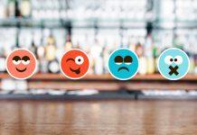 Bar with emojis