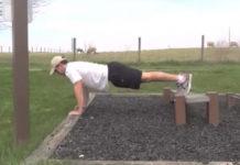 Frankie Romeo doing a FitU workout