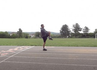 Interval track workouts