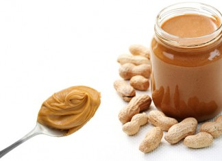 jar of peanut butter and spoon