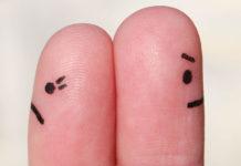 2 upset fingers