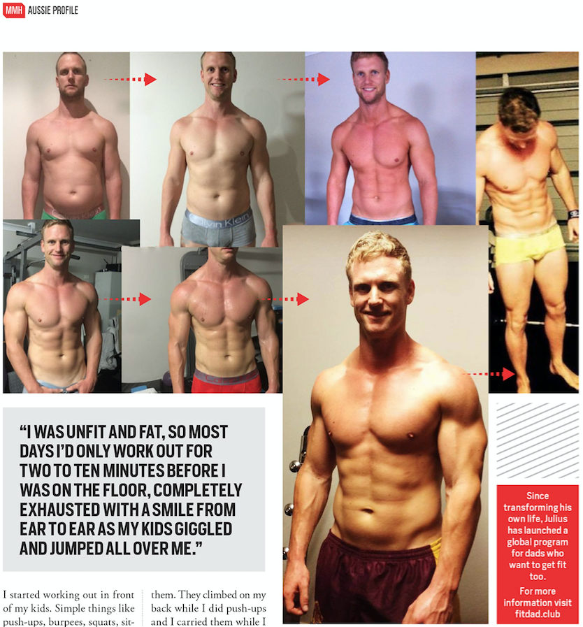 Fitdad article in MMH Julius Kieser page 100