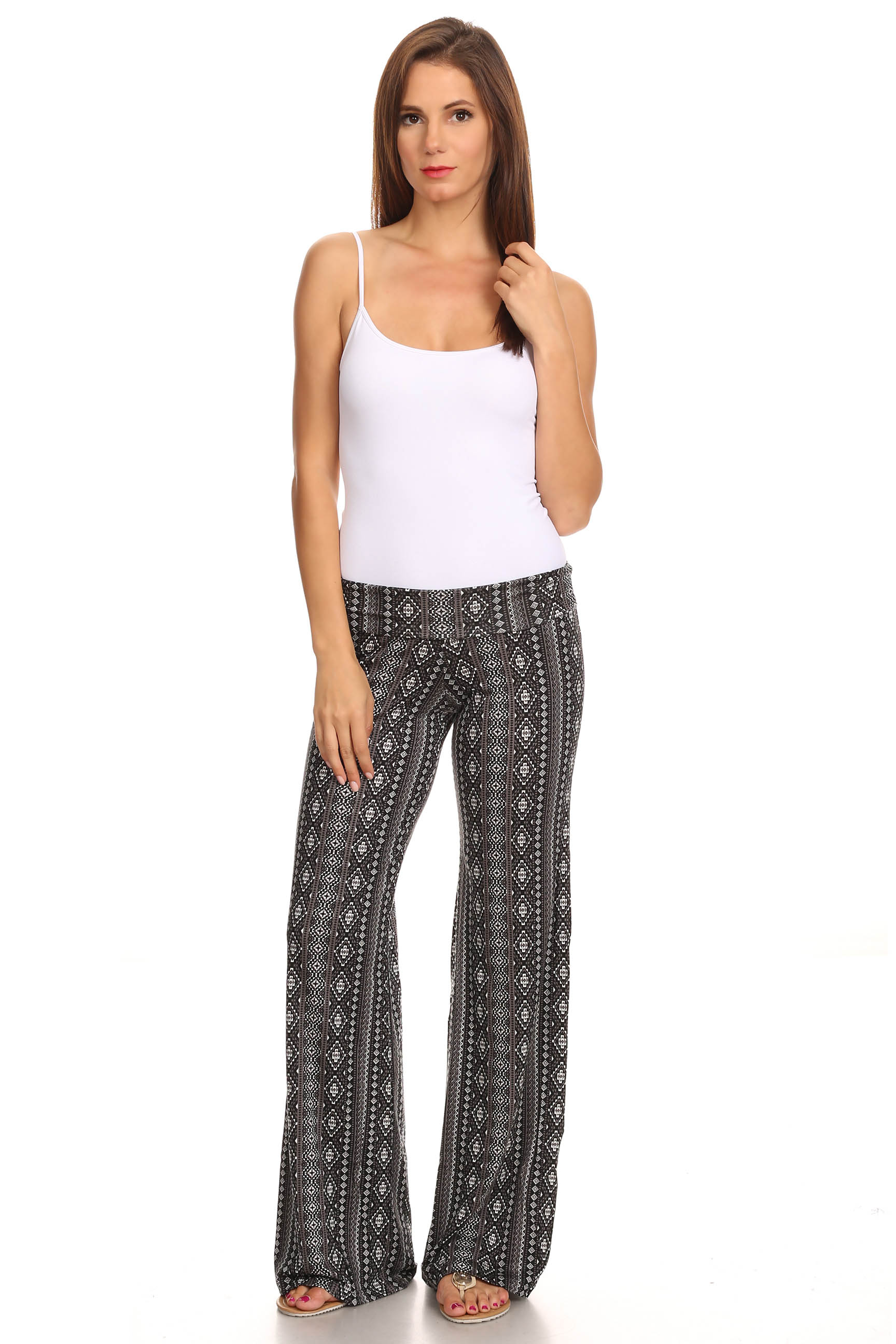 Simple Here Are The Styles Of Cotton Pants For Women You Can Choose From Printed  Printed Grey Cotton Palazzo Pants Image SourceJayorecom These Roomy Printed Palazzos Will Keep You Will Keep