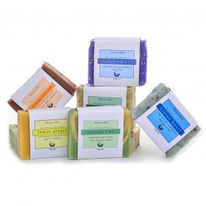mountain mist shea butter soap with essential oils