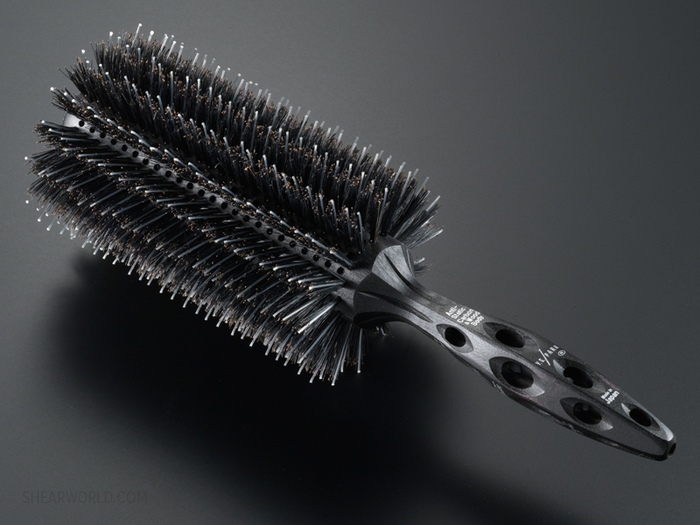 YS Park Extra Long Barrel Styler with Mixed Bristles - 2 Sizes