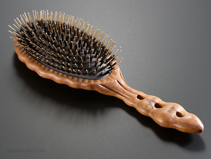 YS Park #651 Wood Handle Oval Brush