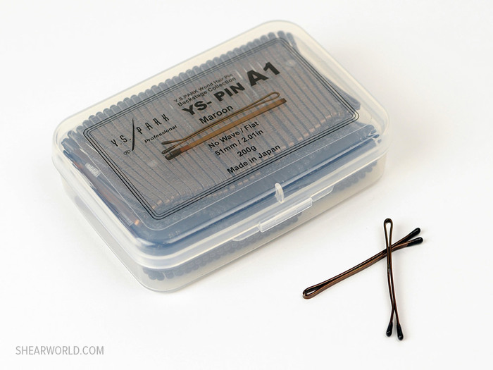 YS Park A1 Wide Flat Bobby Pin