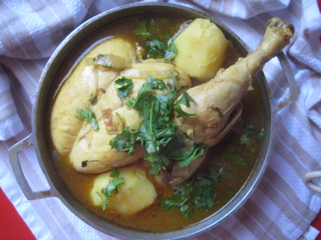 Yemeni chicken soup