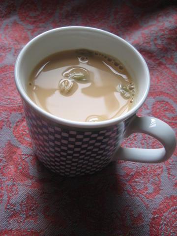 Shai haleeb yemeni tea