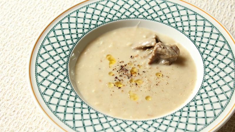 Shuraba meat oat soup