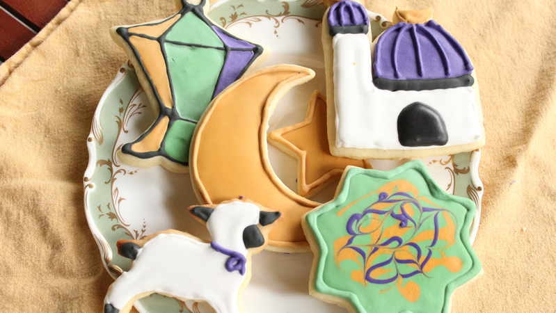 Eid sugar cookies