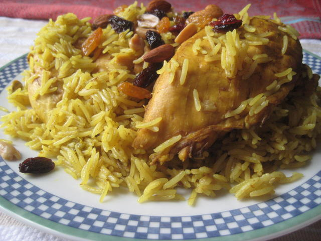 Chicken zurbian rice 0