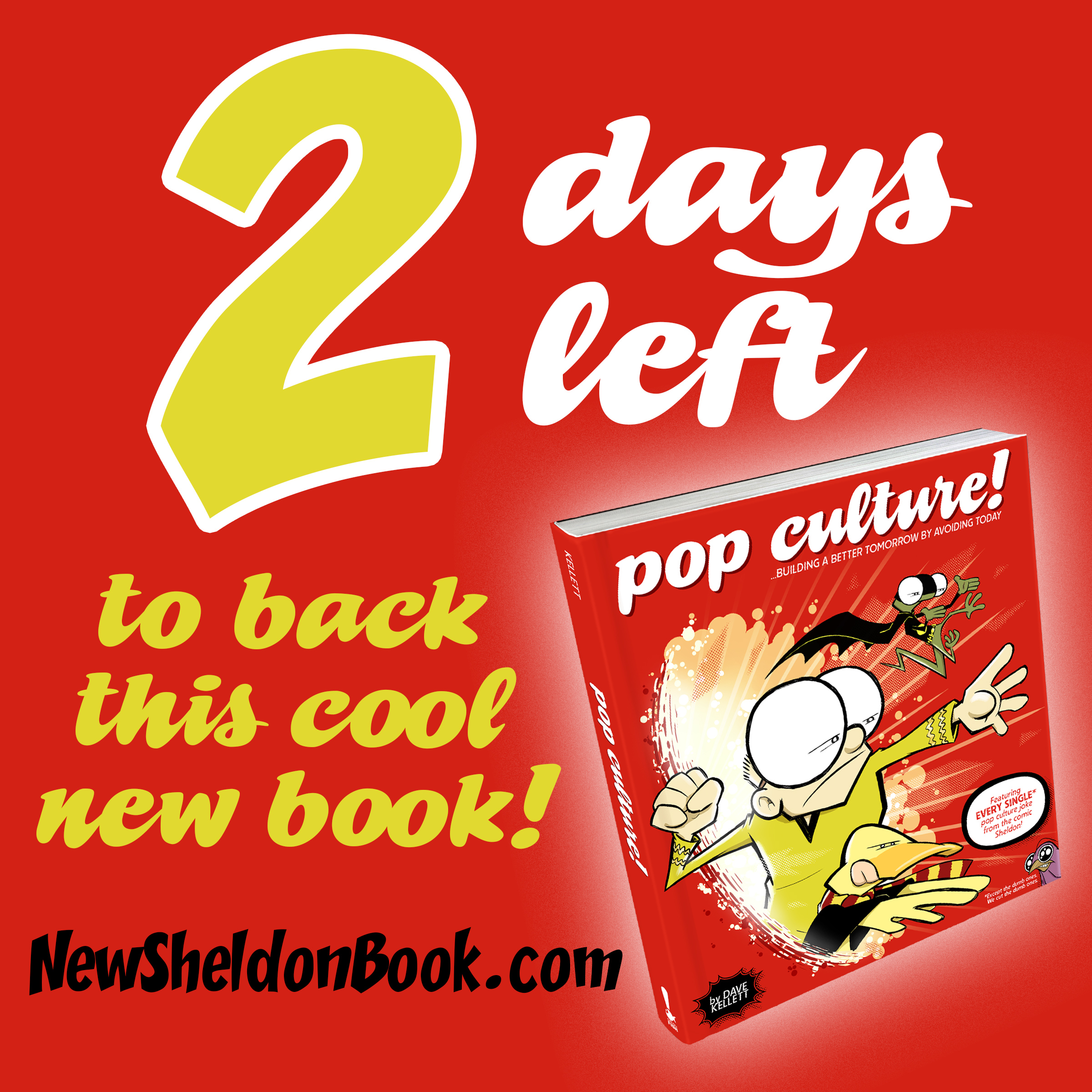 48 hours left to snag the new SHELDON book!