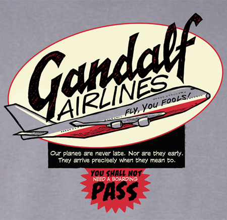 Gandalf Airlines!
