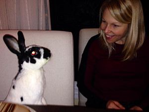 Jen Craft chats with Jackie the bunny