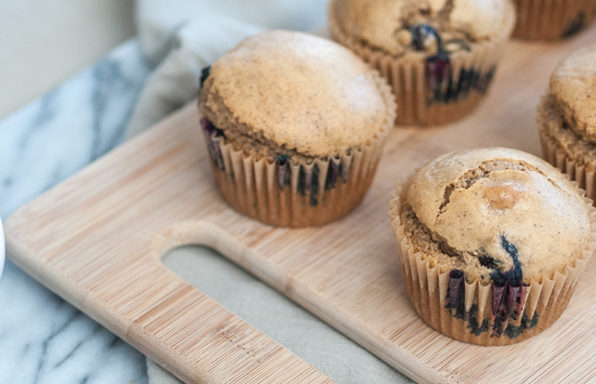 gluten free almond butter blueberry muffin recipe shinewithjl