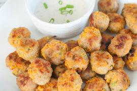 ground turkey sweet potato poppers recipe gluten free shinewithjl