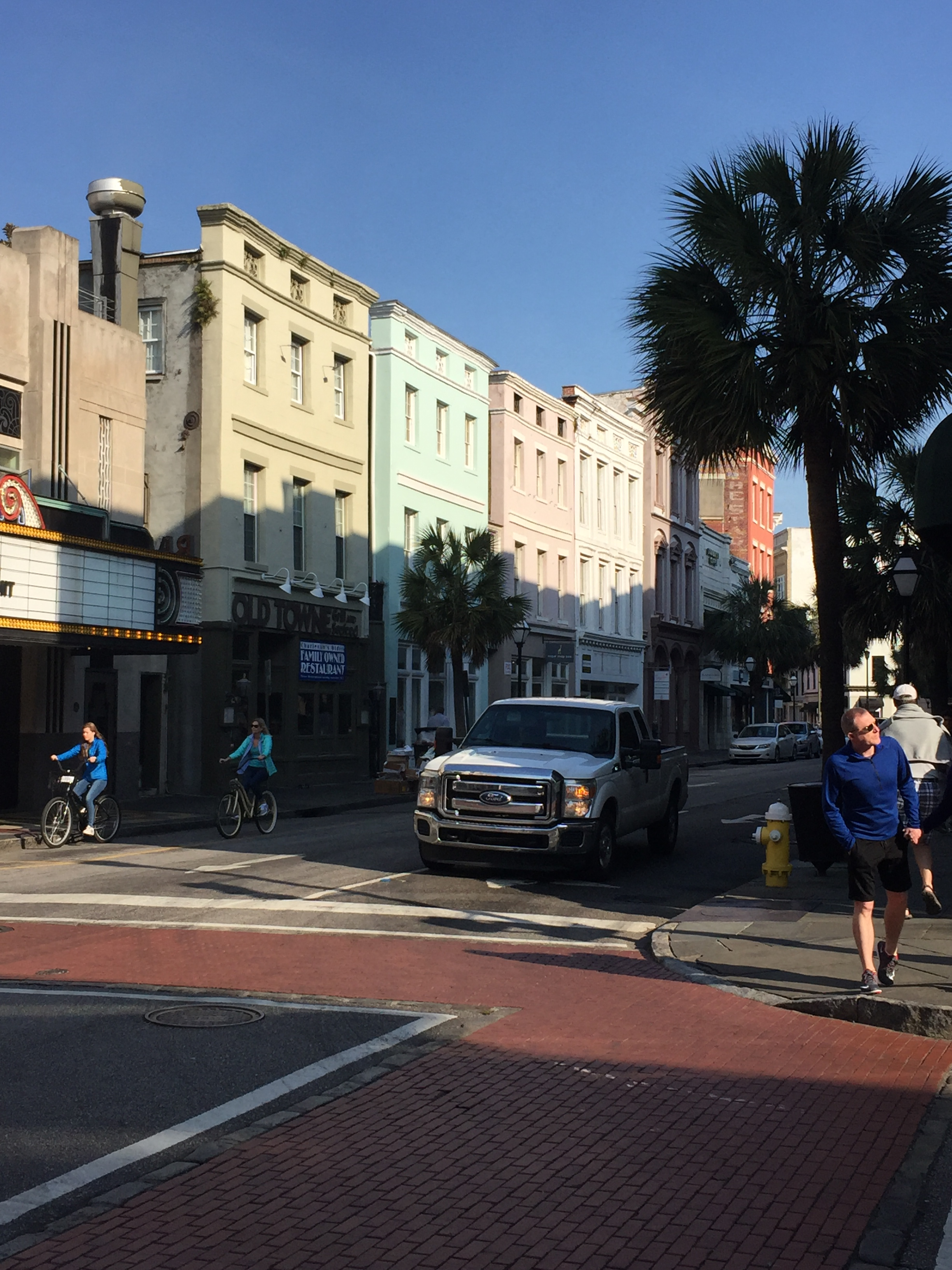 King Street Charleston Sunrise