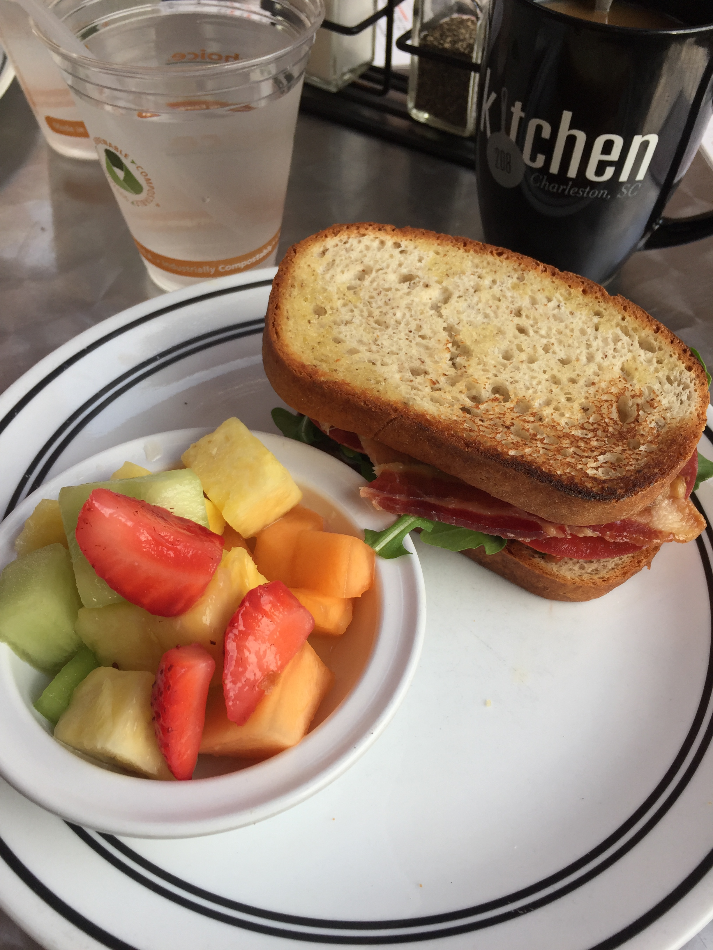 Kitchen 208 Charleston Gluten Free Breakfast Cobblestone Sandwich