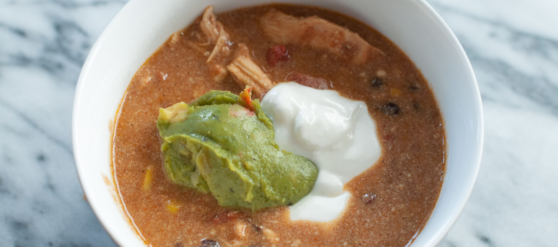 Crockpot Gluten Free Chicken Enchilada Chili Recipe