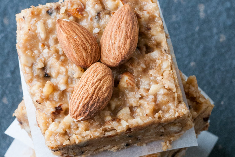 almond walnut coconut protein bar recipe gluten free