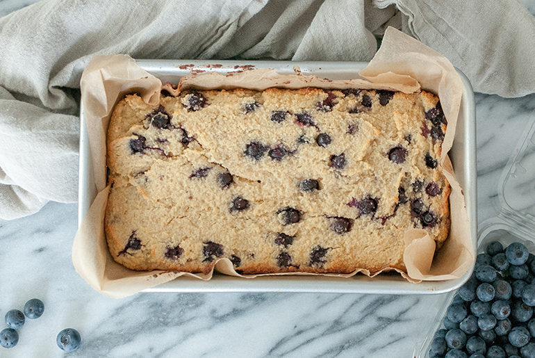blueberry banana bread recipe gluten free dairy free