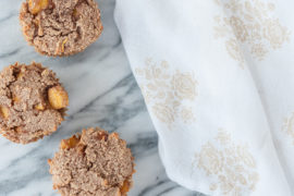 peach muffin recipe paleo gluten free