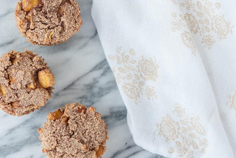 peach muffin recipe paleo gluten free