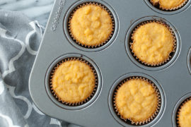paleo honey lemon cupcakes in calphalon cupcake tin shine with jennifer leigh
