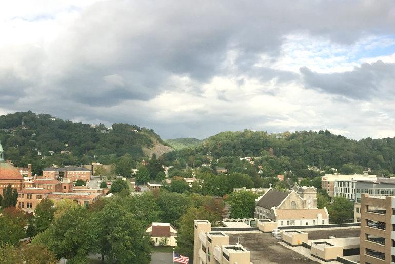 renaissance asheville 9th floor view