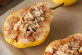 baked walnut pears gluten free dessert shinewithjl