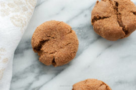 Recipe: Gluten Free Gingersnaps