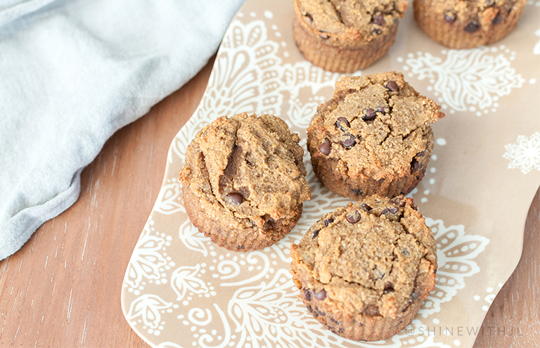 paleo chocolate chip pumpkin muffin recipe shine with jennifer leigh