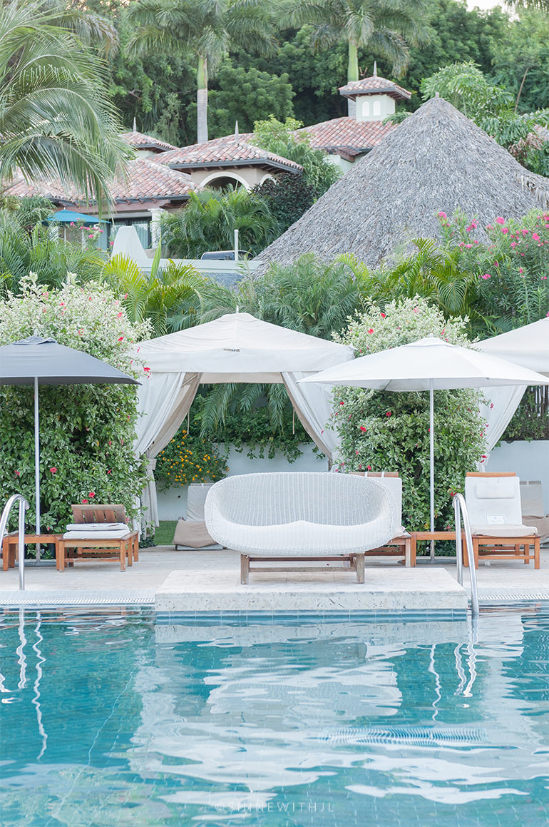 white rattan pool lounge chair sandals grenada photographer shinewithjl
