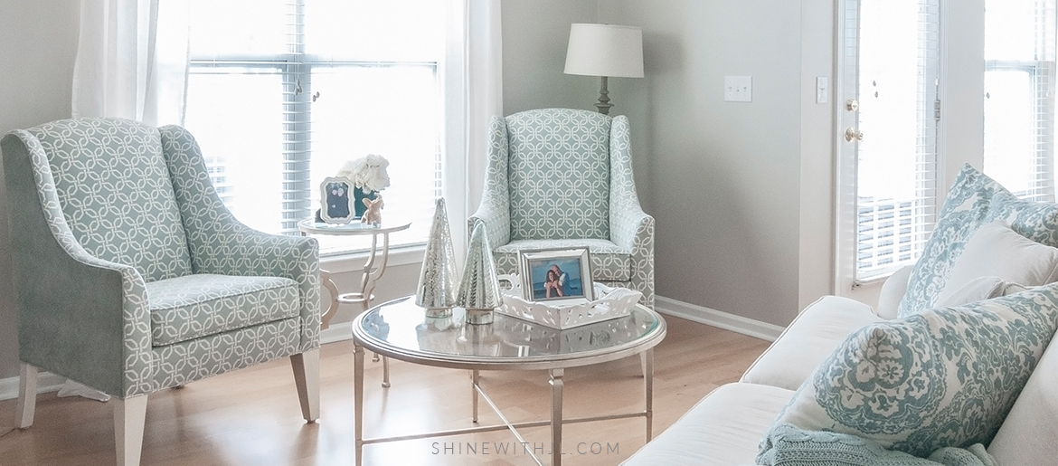 Decorating On A Budget: Breakfast Nook & Living Room – SHINEwithJL