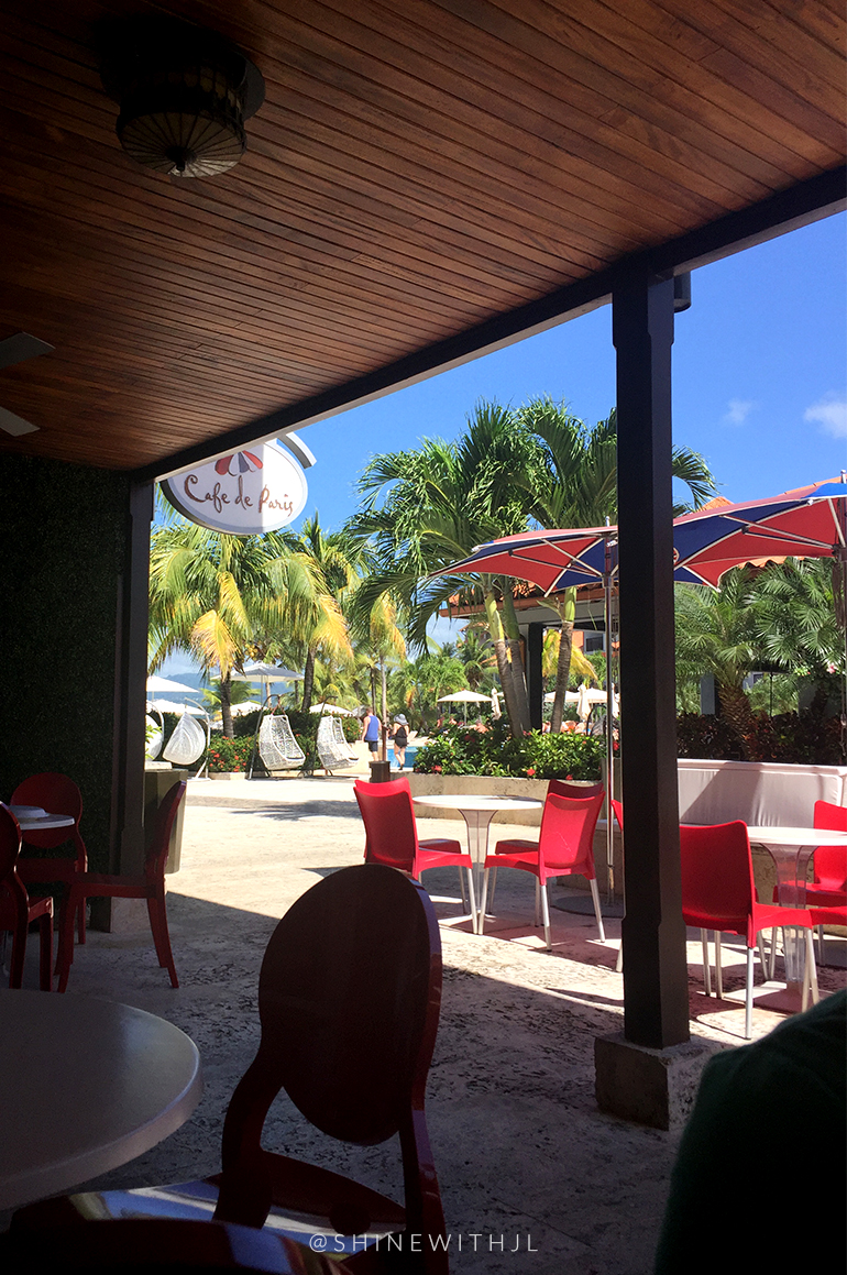 outdoor seating cafe de paris sandals lasource grenada